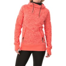 DC Shoes Cleo Hoodie (For Women) in Fiery Coral - Closeouts