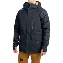 DC Shoes Clout Snowboard Jacket - Waterproof, Insulated (For Men) in Anthracite - Closeouts