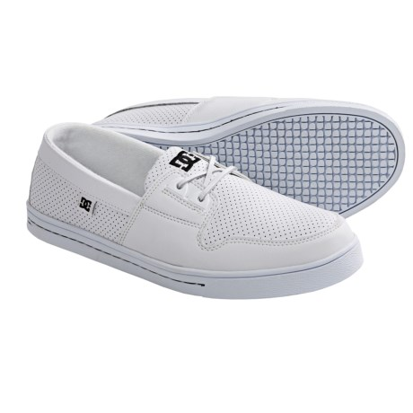 DC Shoes Club Skate Shoes (For Men) in White