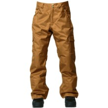 DC Shoes Code Snowboard Pants - Insulated (For Men) in Rubber - Closeouts