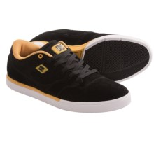 DC Shoes Cole Lite Suede Sneakers (For Men) in Black/Tan - Closeouts