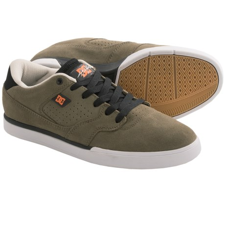 DC Shoes Cole Lite Suede Sneakers (For Men) in Olive