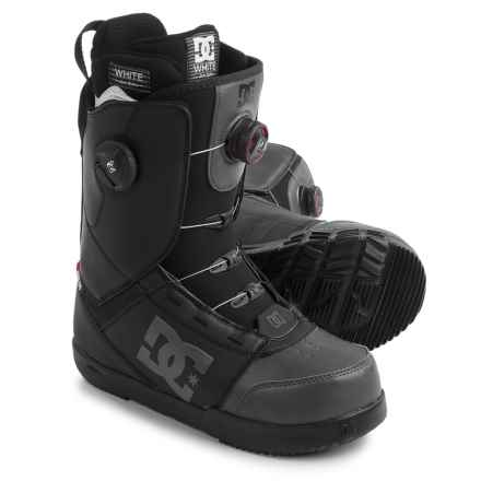 DC Shoes Control BOA® Snowboard Boots (For Men) in Black - Closeouts