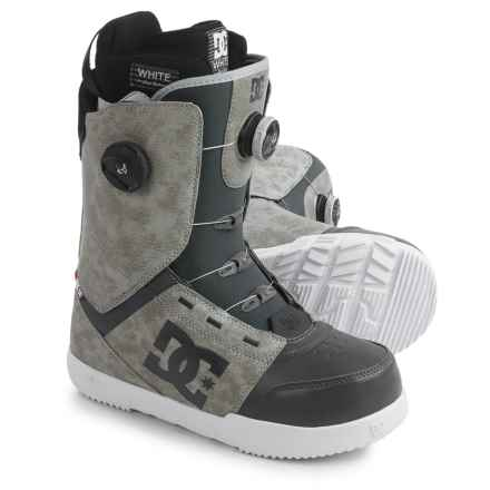 DC Shoes Control BOA® Snowboard Boots (For Men) in Cool Grey - Closeouts