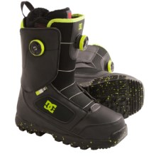 DC Shoes Control Snowboard Boots - BOA® (For Men) in Black/Yellow - Closeouts