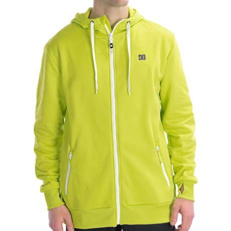 DC Shoes Cooper Hoodie Sweatshirt - Zip (For Men) in Lime