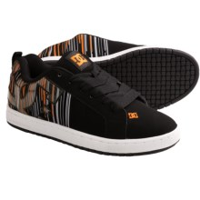 DC Shoes Court Graffik SE Skate Shoes (For Men) in Classic Orange - Closeouts