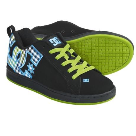 DC Shoes Court Graffik SE Skate Shoes (For Women) - Save 30