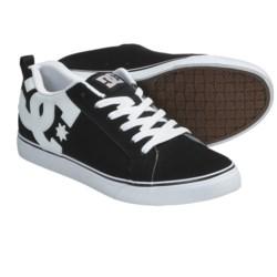 DC Shoes Court Vulc Skate Shoes (For Men) in Dark Slate/Black