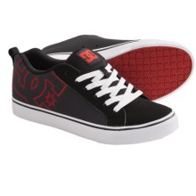 DC Shoes Court Vulc Skate Shoes (For Men) in Dark Slate/Black - Closeouts