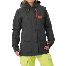 DC Shoes Cruiser Snowboard Jacket - Waterproof, Insulated (For Women) in Anthracite - Closeouts