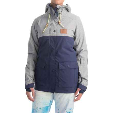 DC Shoes Cruiser Snowboard Jacket - Waterproof, Insulated (For Women) in Patriot Blue - Closeouts