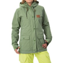 DC Shoes Cruiser Snowboard Jacket - Waterproof, Insulated (For Women) in Sea Spray - Closeouts