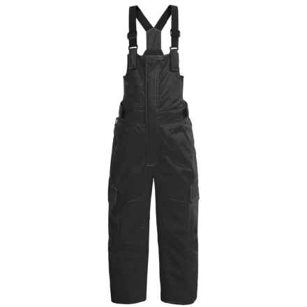 DC Shoes Daredevil Bib Snow Pants - Waterproof, Insulated (For Toddlers) in Anthracite - Closeouts