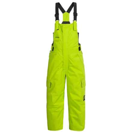 DC Shoes Daredevil Bib Snow Pants - Waterproof, Insulated (For Toddlers) in Lime Punch - Closeouts
