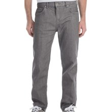 DC Shoes DC Core Denim Jeans - Straight Leg (For Men) in Grey Rinse - Closeouts
