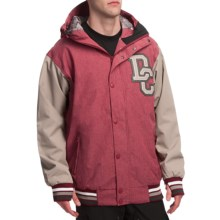 DC Shoes DCLA Jacket - Insulated (For Men) in Biking Red/Alloy - Closeouts