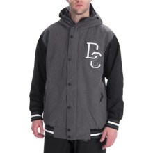 DC Shoes DCLA Jacket - Insulated (For Men) in Black - Closeouts