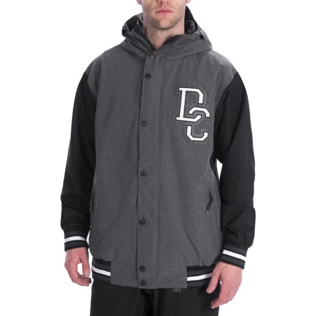 DC Shoes DCLA Jacket - Insulated (For Men) in Black