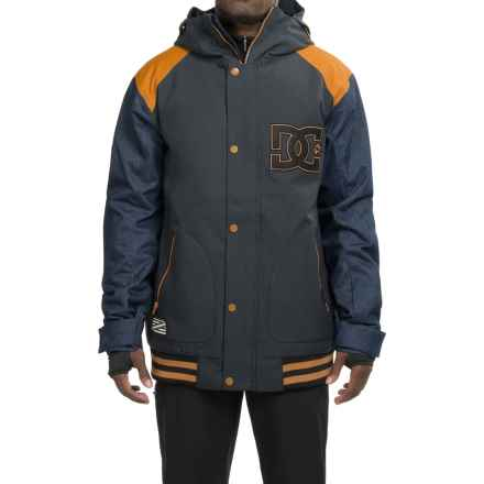 DC Shoes DCLA SE Snowboard Jacket - Waterproof, Insulated (For Men) in Anthracite - Closeouts