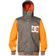 DC Shoes DCLA Snowboard Jacket - Insulated (For Men) in Dark Gull Grey - Closeouts
