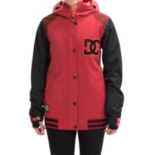 DC Shoes DCLA Snowboard Jacket - Waterproof, Insulated (For Women) in American Beauty - Closeouts