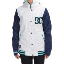 DC Shoes DCLA Snowboard Jacket - Waterproof, Insulated (For Women) in Minicats - Closeouts