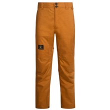 DC Shoes Dealer Snowboard Pants - Waterproof (For Men) in Cathay Spice - Closeouts