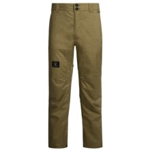 DC Shoes Dealer Snowboard Pants - Waterproof (For Men) in Military Olive - Closeouts