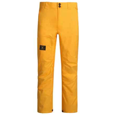 DC Shoes Dealer Snowboard Pants - Waterproof (For Men) in Zinnia - Closeouts