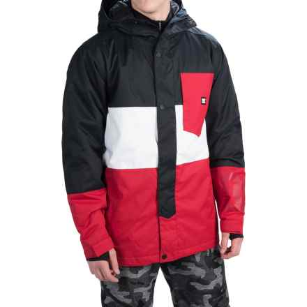 DC Shoes Defy Snowboard Jacket - Waterproof, Insulated (For Men) in Anthracite - Closeouts