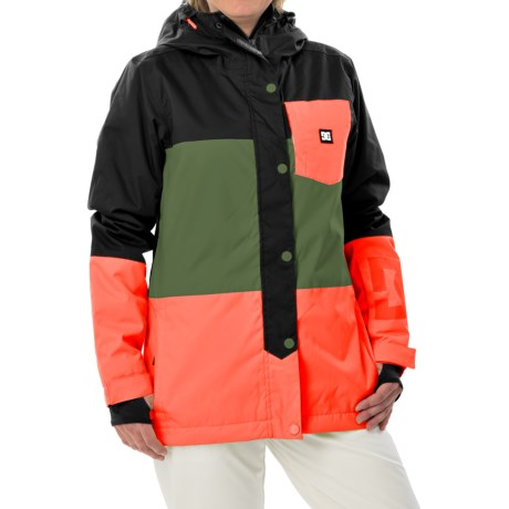 DC Shoes Defy Snowboard Jacket Waterproof, Insulated (For Women)