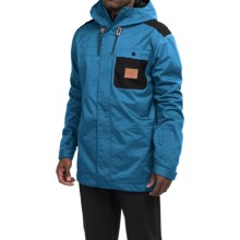 DC Shoes Delinquent Snowboard Jacket - Waterproof, Insulated (For Men) in Faience - Closeouts