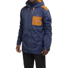 DC Shoes Delinquent Snowboard Jacket - Waterproof, Insulated (For Men) in Patriot Blue - Closeouts
