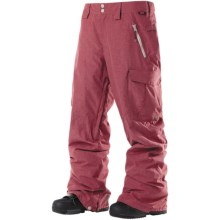 DC Shoes Donon 13 Snowboard Pants - Insulated (For Men) in Biking Red - Closeouts