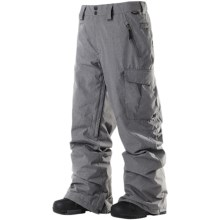 DC Shoes Donon 13 Snowboard Pants - Insulated (For Men) in Shadow - Closeouts