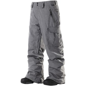 DC Shoes Donon 13 Snowboard Pants - Insulated (For Men) in Shadow