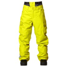 DC Shoes Donon 14 Snowboard Pants - Insulated (For Men) in Sulphur Spring - Closeouts