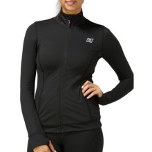 DC Shoes Faster Jacket (For Women) in Black - Closeouts