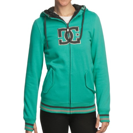 DC Shoes Felice 13 Hoodie - Reversible, Zip (For Women) in Seaport