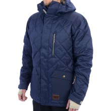 DC Shoes Forest Snow Jacket - Waterproof, Insulated (For Men) in Dress Blue - Closeouts