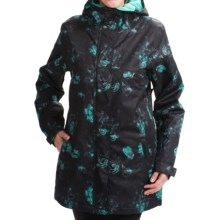 DC Shoes Fuse 15 Snow Jacket - Waterproof, Insulated (For Women) in Paisley - Closeouts