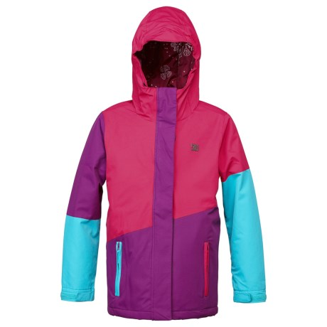 DC Shoes Fuse Snowboard Jacket - Insulated (For Girls) in Bright Rose