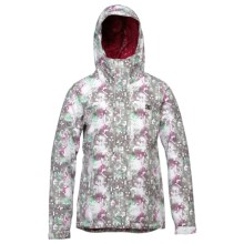 DC Shoes Fuse Snowboard Jacket - Insulated (For Women) in Bright White/Pattern 4 - Closeouts