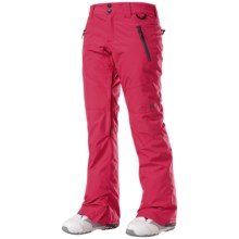DC Shoes Gallary Snowboard Pants - Waterproof, Insulated (For Women) in Azalea - Closeouts