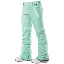 DC Shoes Gallary Snowboard Pants - Waterproof, Insulated (For Women) in Yucca - Closeouts