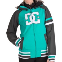 DC Shoes Gamut 13 Jacket - Soft Shell (For Women) in Aegean/Shadow/White - Closeouts