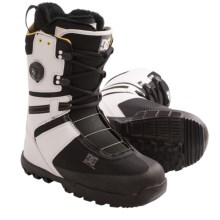 DC Shoes Gizmo Snowboard Boots (For Men) in White/Black - Closeouts