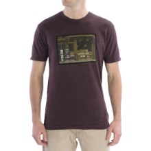 DC Shoes Graphic T-Shirt - Short Sleeve (For Men) in Criminals Prune - Closeouts