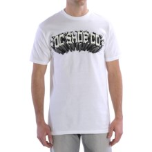 DC Shoes Graphic T-Shirt - Short Sleeve (For Men) in Launch Ramp White - Closeouts